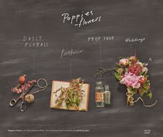 Very creative use of graphics to evoke a romantic vintage style. #webdesign #interactivedesign #designinspiration