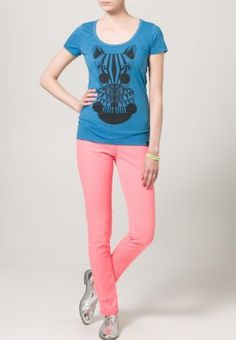 ALFA - T-shirt print - Blauw