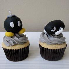 super cute mario cupcakes
