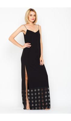 Rochie lunga neagra So Soft Cold Shoulder Dress, Collection, Dresses, Fashion, Moda, Vestidos, Fashion Styles, Dress, Dressers