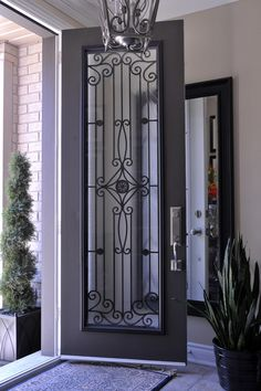 Glass insert for front door too revealing it s still beautiful
