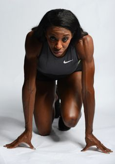 Portraits of Team USA 2012  LASHINDA DEMUS TRACK
