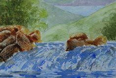Watercolour Waterfall £8.00