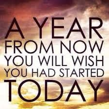 Citations Réussite & Succes: A year from now you will wish you had started today. Good Quotes, Inspirational Quotes Pictures, Quotes To Live By, Me Quotes, Funny Quotes, Wisdom Quotes, Today Quotes, Clever Quotes, Famous Quotes