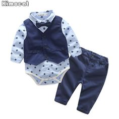 Nice 2017 bebes boy clothes baby boys clothes 3 piece of set baby clothing set bebes Spring new style - $31.74 - Buy it Now!