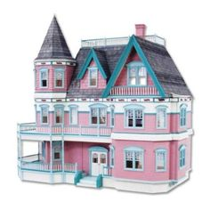 Dollhouse Miniature The Queen Anne II Dollhouse by RGT