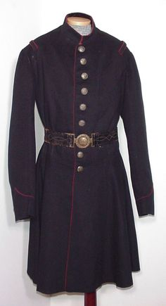 After an extensive survey of the worlds leading public and private Confederate collections, the frock coat shown here has been determined to be the only known surviving circa 1860-1861 South Carolina Regular Army enlisted artillery man's frock coat left in existence.