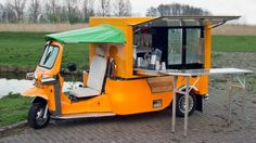 The Tuk Tuk Factory has launched its new vehicle, the e-Tuk Vendo, which is a pure electric mobile catering truck.