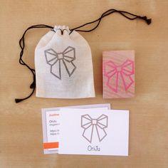 Tampon bien reçu, je le trouve super ! Merci @kraftille #kraftille #packaging #tampon #emballage #stamp #handmade #oriju