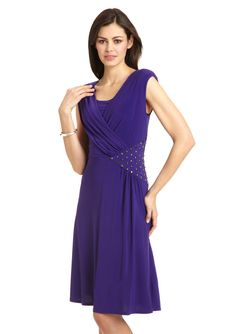 R RICHARDS  Cocktail Dress with Beaded Waist Detail  $39.99