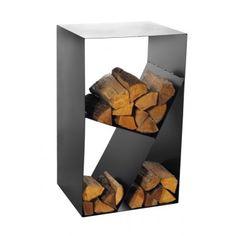Stijlvol houtrek R122 Fireplace Fan, Fireplace Garden, Fireplace Shelves, Firewood Rack, Firewood Storage, Into The Woods, Wood Cradle, How To Waterproof Wood, Fire Pit Grill