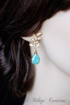 drop earring. longer, please!