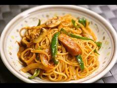 ▶ 懐かしのナポリタン♪ Spaghetti Naporitan♪ - YouTube Add sake. Maybe next time I try using tomato paste instead of ketchup. I found it too sweet.