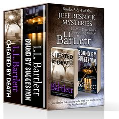 Boxed Set -- Books 3 & 4 of the Jeff Resnick Mysteries; Cheated by Death and Bound By Suggestion.