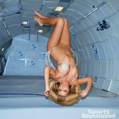 Here Are Those Photos of Kate Upton in Zero Gravity