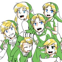The Legend of Zelda / Link / 「落書き」/「Erend」のイラスト [pixiv] [19]