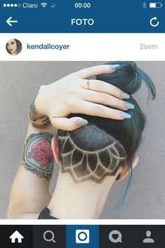 Love this undercut!!