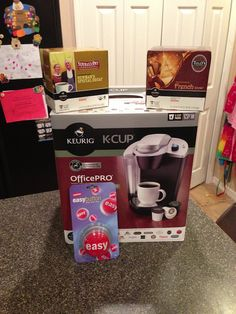 Keurig OfficePRO Coffee Maker {Giveaway and Review} - Aggie's Kitchen