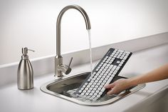 Logitech Washable Keyboard.