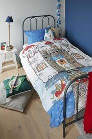 Beddinghouse dekbedovertrek Knight Castle ::Kinderdekbedovertrekken::Dekbedovertrekken::Slaapkamer::De Linnenboom, de specialist in bed-, bad en keukentextiel