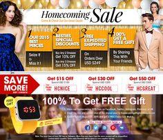 2015 Homecoming Sale