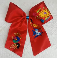 Ribbon Hair Bows, Hairbows, Baby Bows, Hair Clips, Mexico, Bear, Videos, Towels, Xmas