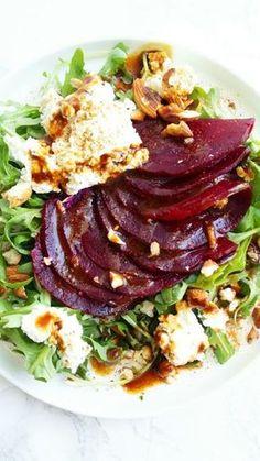 Appetizer Salads, Appetizer Recipes, Healthy Salad Recipes, Vegetarian Recipes, Ensalada Thai, Beef Recipes, Cooking Recipes, Eat Pretty, Food Humor