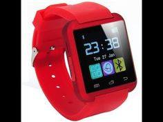 Bingo U8 Red Smartwatch = latest flipkart offers