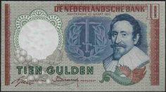 10 gulden Nederland, 1950 - 1970, Hugo de Groot, rechtsgeleerde en schrijver.