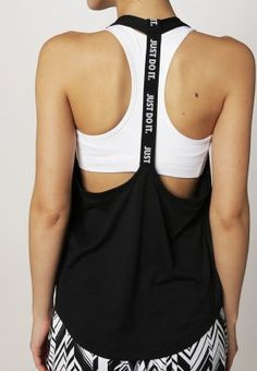 Nike Performance ELASTIKA LOOSE FIT - Top - black - ZALANDO.FR
