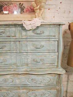 Painted Cottage Furniture |  Vintage Painted Furniture