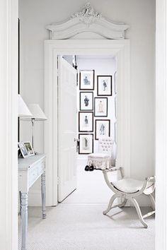All white err'thaaaang  Une maison blanche inspirée par le cinéma