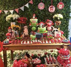 Decoração Festa Chapeuzinho