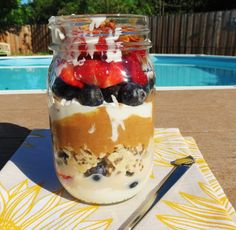 PB and P's Breakfast Jar Parfait
