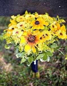 Black Eyed Susan Bridal Bouquet (my favorite flower)