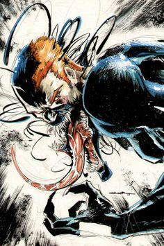 40 Awesome Venom Illustration Artworks