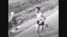 1952. Reinaldo Gorno 2do en la maratón olímpica