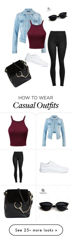 """Casual"" by sarahmeyer-3 on Polyvore featuring Vans and Chloé"