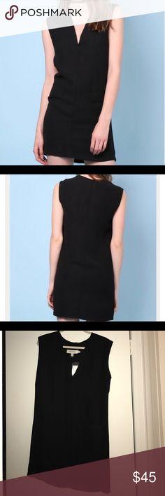 Twin Sister Black Tuxedo Dress NWT NWT. Twin Sister Black tuxedo dress! Adorable and great for Fall! Size medium Twin Sister Dresses Mini