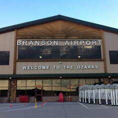 The Branson Airport. @FlyBranson #ItsMyShow #Branson