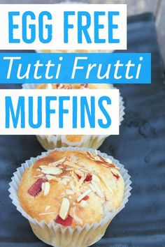 Allergic to eggs? Try these egg free muffins. With a melt in mouth texture,these muffins are soft and moist. Egg Free Recipes, Fun Easy Recipes, Muffin Recipes, Cupcake Recipes, Egg Free Muffins, Baby Muffins, Eggless Banana Muffins, Chocolate Muffins