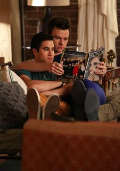 """Chris Colfer Says Blaine and Kurt Will """"Definitely End Up Together"""""""