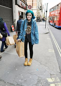 Quirky Fashion, Punk Fashion, Aesthetic Fashion, Grunge Fashion, Fashion Outfits, Grunge Outfits, Winter Outfits, Alternative Mode, Alternative Fashion