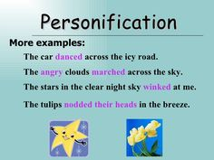 Personification example from mr sun figurative language personification examples personification more examples fandeluxe Images