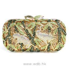 Gorgeous Crystal Tropic Clutch $199.98