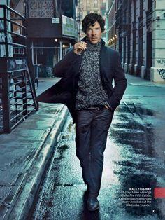 Benedict Cumberbatch by Annie Leibovitz for Vogue