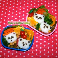 Bentos on the Bayou: Lil Pandas