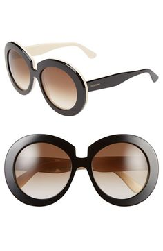 Valentino 54mm Oversized Gradient Sunglasses | Nordstrom