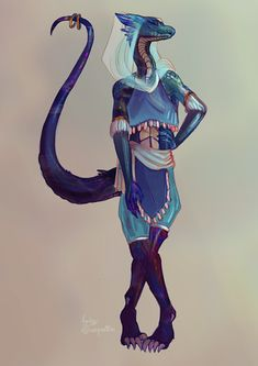 blue female dragonborn with tail Dungeons And Dragons Characters, Dnd Characters, Fantasy Characters, Female Dragonborn, Dnd Dragonborn, Fantasy Character Design, Character Design Inspiration, Character Art, Fantasy Races