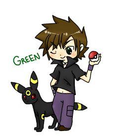 trainer green pokemon - Google Search Gary Oak, Green Pokemon, Sonic The Hedgehog, Trainers, Japan, Google Search, Cute, Fictional Characters, Tennis